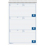 find tops spiralbound message log book - rapid shipping - sku: top44169