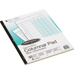 shop for acco wilson jones side-bound punched columnar pads - toll-free customer service - sku: wljg7204a