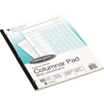 get acco wilson jones side-bound punched columnar pads - new  lower prices - sku: wljg7206a
