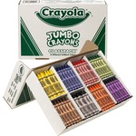 crayola jumbo crayon classpack - toll-free customer care team - sku: cyo528389