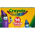 crayola 96 count regular crayola crayons - outstanding customer service - sku: cyo520096