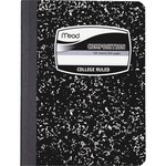 mead college-ruled composition book - sku: mea09932 - large variety