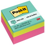 3m post-it convenient memo cube - sku: mmm2027rcr - quick delivery