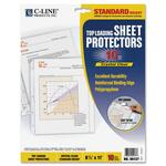 buying c-line standard weight poly sheet protectors - easy online ordering - sku: cli05137