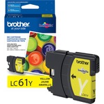 shopping online for brother lc61bk c m y ink cartridges - spend less - sku: brtlc61y