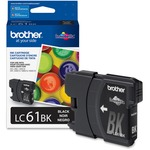 large supply of brother lc61bk c m y ink cartridges - rapid shipping - sku: brtlc61bk