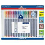 staedtler triplus fineliner pens ready to ship now - sku:std334sb20bk
