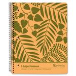 reduced prices on esselte envirotech 3-subject notebook - ships quickly - sku: ess40104