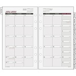 reduced prices on day runner tabbed monthly calendar refill - wide-ranging selection - sku: drn063685y