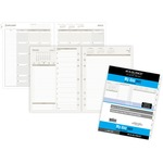 shop for day runner pro two-pages-per-day planning pages - toll-free customer support staff - sku: drn491225