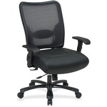 purchase office star executive mesh big and tall leather chair - excellent deals - sku: osp7547a773