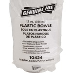 large variety of genuine joe reusable disposable plastic bowls - ships quickly - sku: gjo10424
