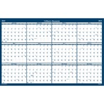 doolittle vertical horizontal laminated wall calendar - top notch customer service staff - sku: hod3961