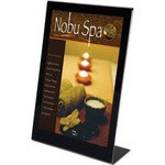 shop for deflect-o superior image slanted standup sign holder - ships quickly - sku: def69775