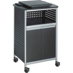 large supply of safco multipurpose lectern - ships fast   free - sku: saf8922bl