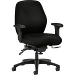 shop for hon 7800 series mid-back task chairs w seat glides - quick and easy ordering - sku: hon7828nt10t