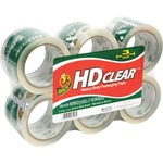 duck brand hd clear extra width 3  packaging tape - sku: duc0007496 - great prices
