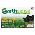 lowered prices on webster earth sense trash bags - rapid delivery - sku: wbiges6tl50