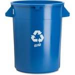 genuine joe heavy-duty trash container - sku: gjo60464 - giant selection
