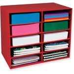 pacon 10-shelf organizer  - sku: pac001314 - new  lower prices