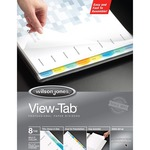 need some acco wilson jones view-tab paper dividers  - broad selection - sku: wlj55965