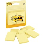3m post-it canary original note pads - sku: mmm2031 - professional customer support staff