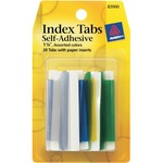 discounted pricing on avery self-adhesive index tabs - great selection - sku: ave82000