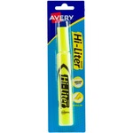 get avery hi-liter chisel point desk style highlighters - quick and easy ordering - sku: ave24001