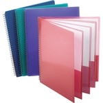 esselte wire binding 8-pocket folders - sku: ess5740404 - discount prices