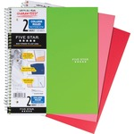 wide assortment of mead five star wirebound 2-subject notebook - outstanding customer service - sku: mea06188