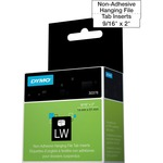 lowered prices on dymo labelwriter hanging file tab inserts - super fast delivery - sku: dym30376