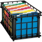 huge selection of esselte stackable crate file - toll-free customer support team - sku: ess27570