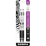 zebra m-301 stainless steel mechanical pencils - us-based customer support - sku: zeb54012
