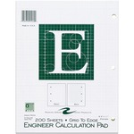 buy roaring spring engineer calculation pads - large selection - sku: roa95589