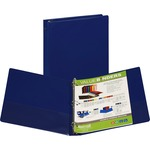 reduced prices on samsill suede embossed value ring binders - shop and save - sku: sam11302
