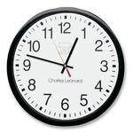 need some charles leonard 12  quartz wall clock  - professional customer service team - sku: leo76820
