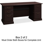 get the lowest prices on bush syndicate coll. harvest cherry desk ensemble - free and quick delivery - sku: bsh6372csa203
