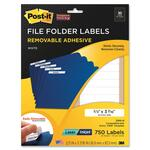 searching for 3m post-it super sticky removable file folder labels  - shop here and save - sku: mmm2100h