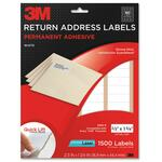 shop for 3m permanent return white address laser labels - top notch customer care - sku: mmm3100p
