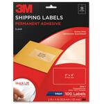 get 3m permanent inkjet film shipping address labels - great pricing - sku: mmm3500t