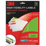 3m high visibility permanent adhesive laser labels - sku: mmm3600i - affordable prices