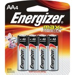 energizer max alkaline aa batteries - excellent customer support - sku: evee91bp4acs