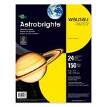wausau astrobrights cool assortment cover paper - save money - sku: wau20293
