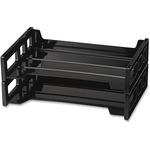 get officemate side-loading stackable 2 pk desk trays - outstanding customer support - sku: oic21022