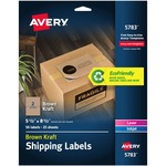 search for avery brown kraft internet shipping labels w receipt - excellent customer support team - sku: ave5783