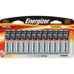 shop for energizer max alkaline aa batteries - professional customer service staff - sku: evee91sbp24h