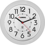discounted pricing on lorell round profile radio-controlled wall clocks - toll-free customer care team - sku: llr60985