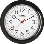 shop for lorell 13-3 4  round quartz wall clock - excellent customer care - sku: llr60989