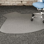 buy lorell plushmat chairmats - excellent pricing - sku: llr69156