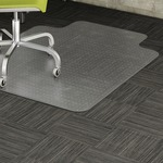 lorell low-pile chairmats w  standard lip - sku: llr69157 - toll-free customer care